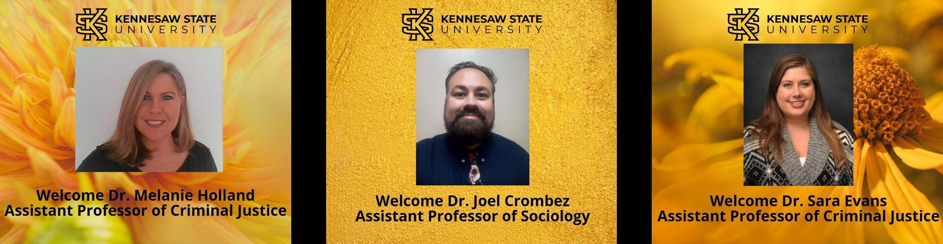Welcome new SCJ Faculty!