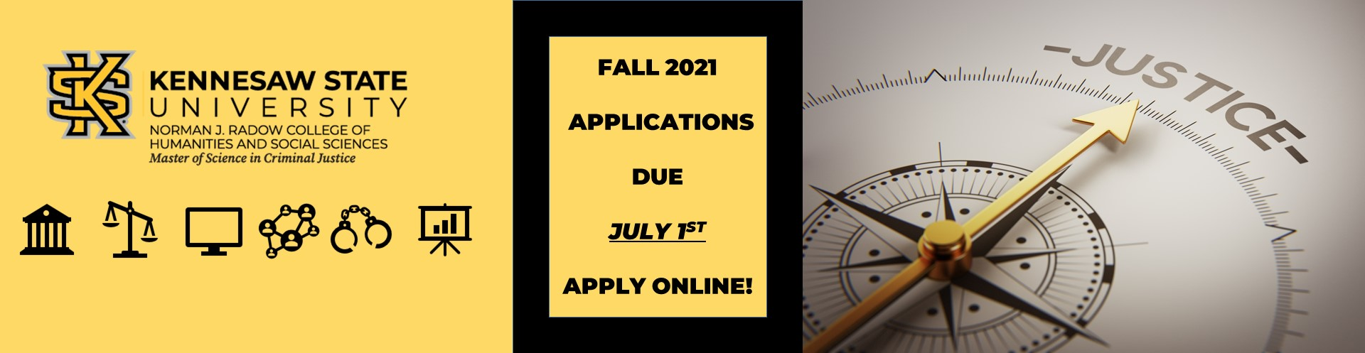 Apply now for fall 2021 Admission!