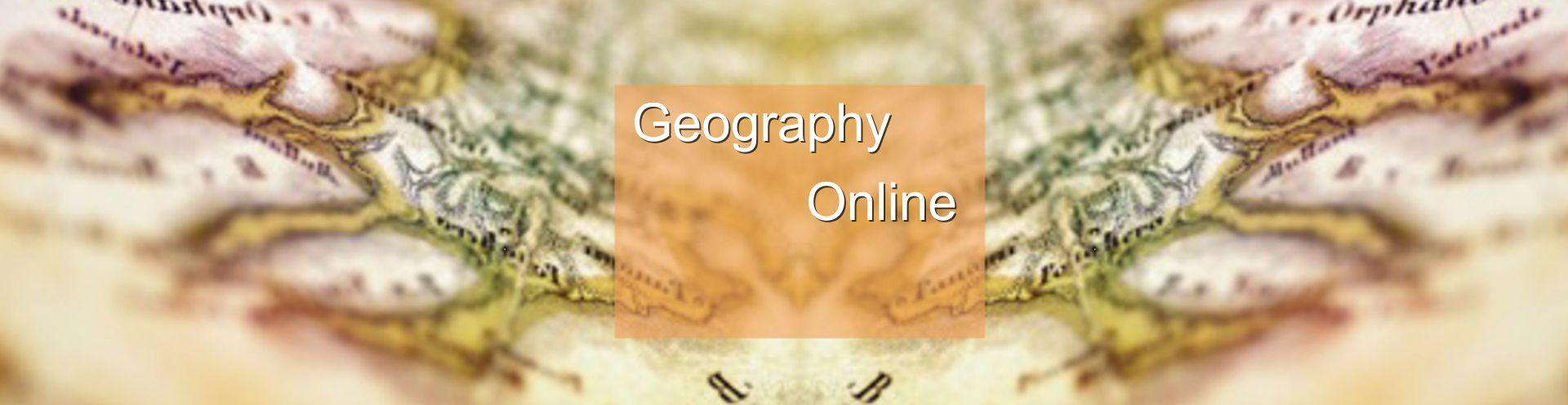 Online Geography Degree