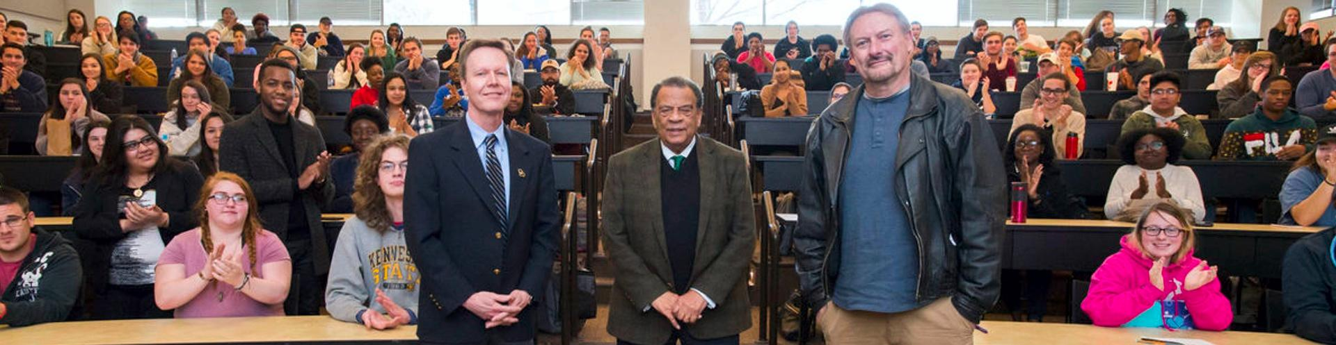 Andrew Young speaks at KSU