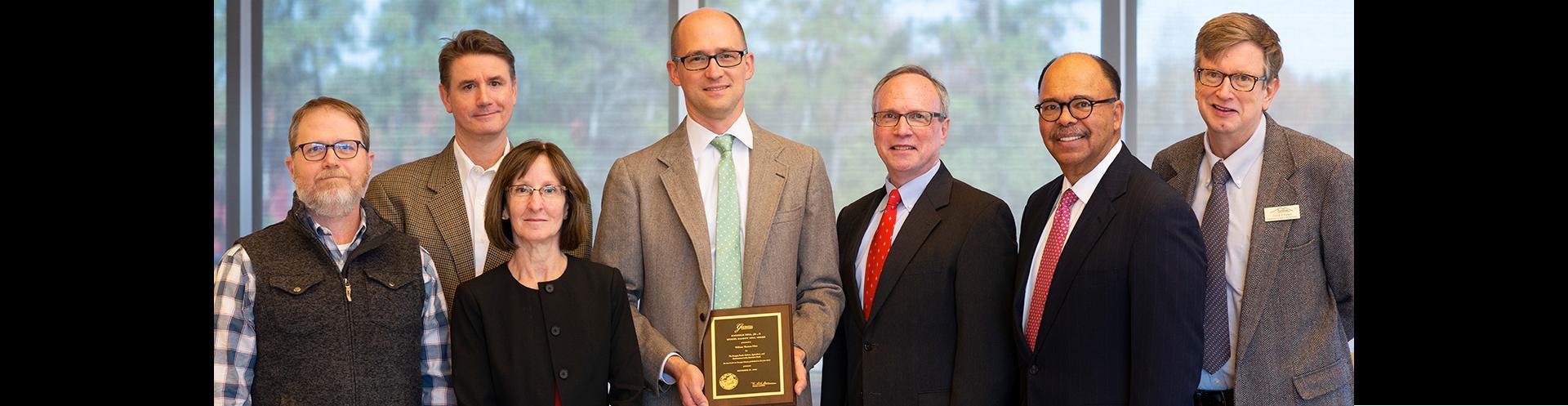 Tom Okie Earns Bell Award