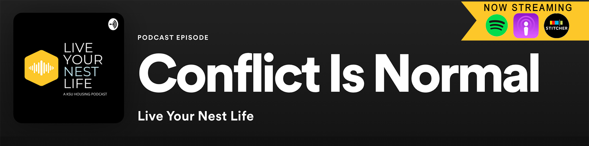 New Podcast Alert: Conflict is Normal