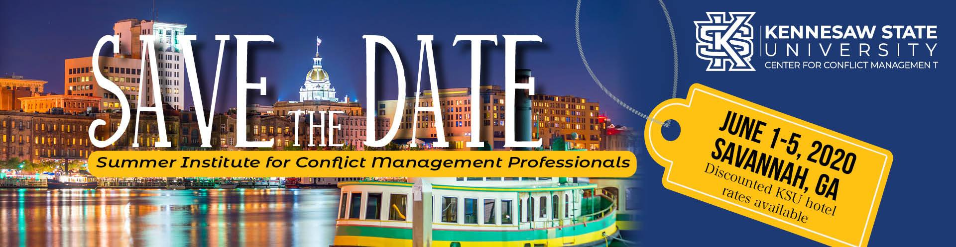 Save the Date: June 1-5 Summer Institute