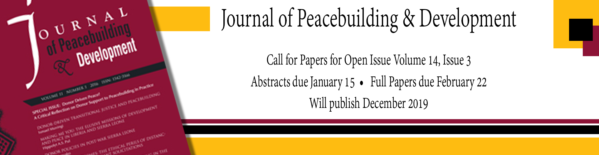 OPEN Call for Papers