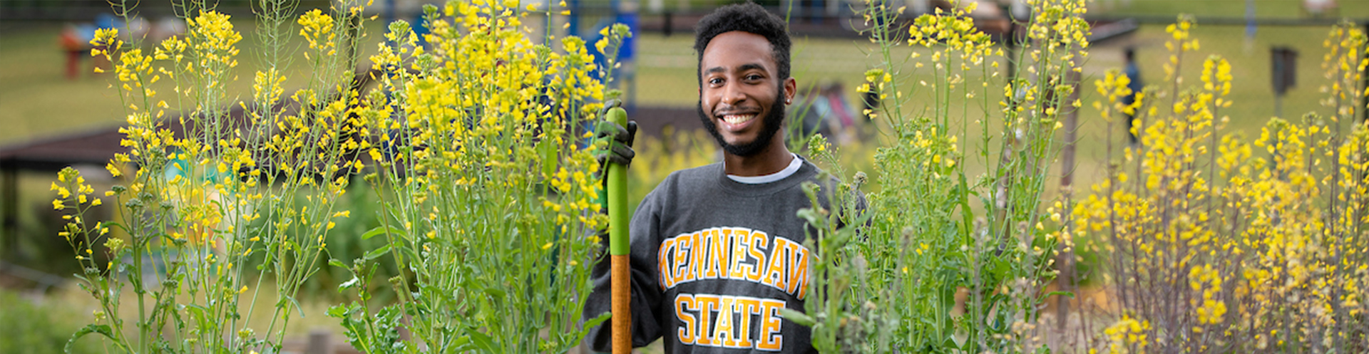 Kennesaw State graduate cultivates awareness of hunger, food insecurity