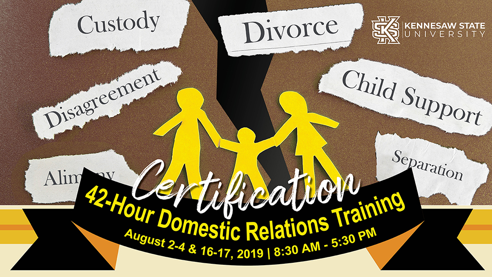Domestic Relations Training at KSU