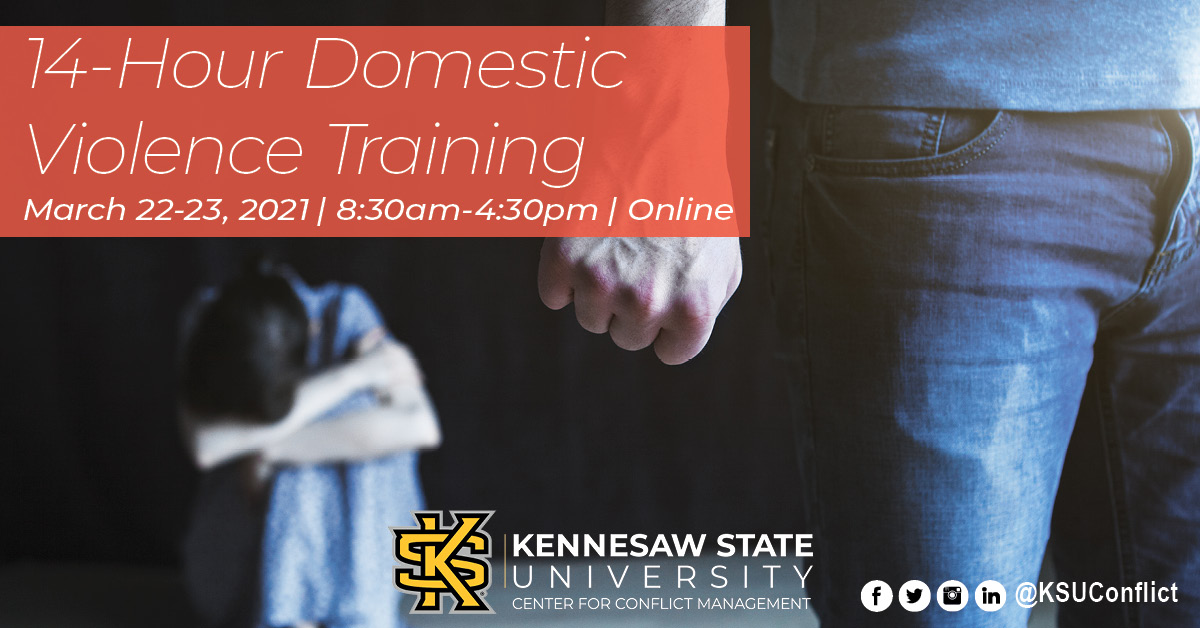 14-Hour Domestic Violence Training