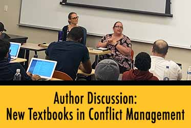 Author Discussion: New Textbooks in Conflict Management