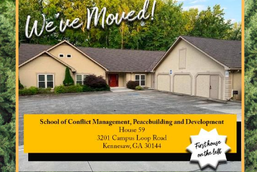 School of Conflict Management moved to House 59