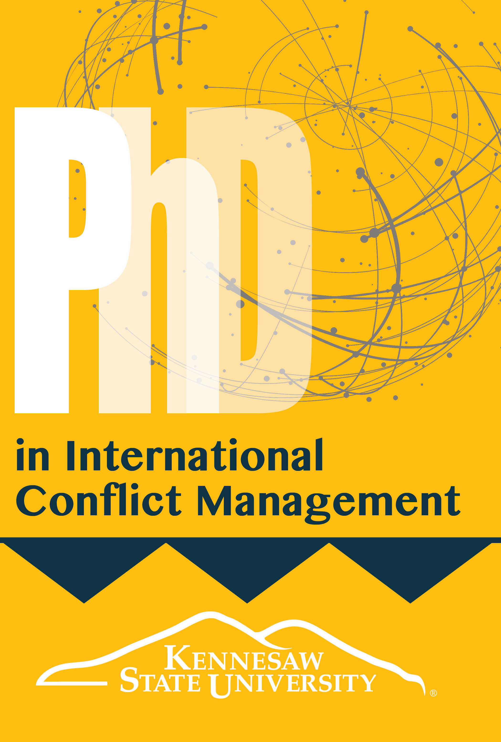 phd conflict management brochure front