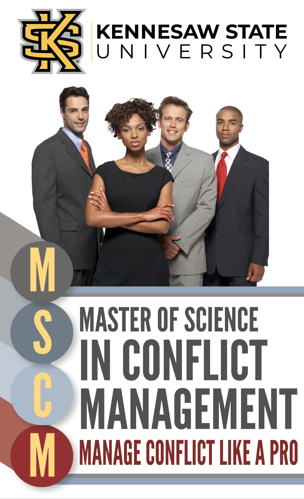 MS in Conflict Management at KSU