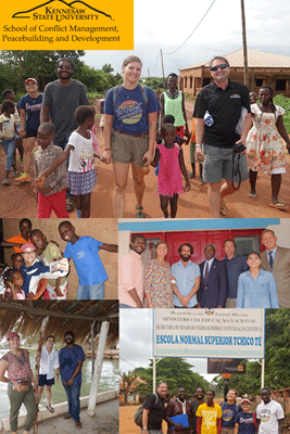 Dr. Brandon D. Lundy and students help restore U.S. and Guinea-Bissau Relations