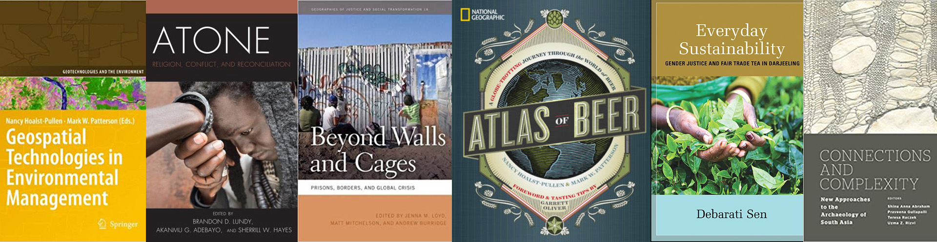 Geography Anthropology Faculty Books