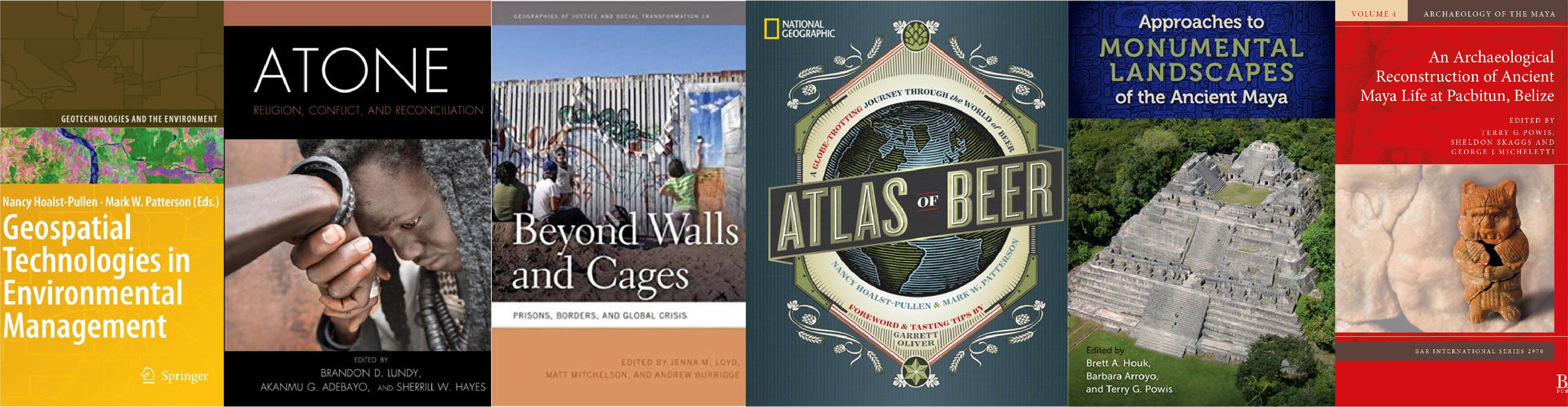 Geography Anthropology Faculty Research Books Publications