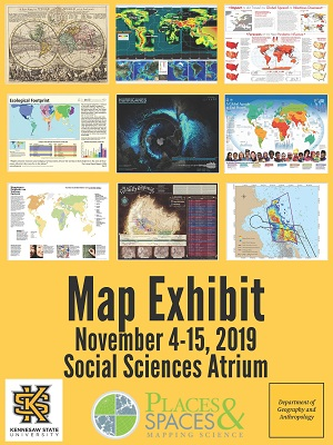 Places and Spaces: Mapping Science Exhibit