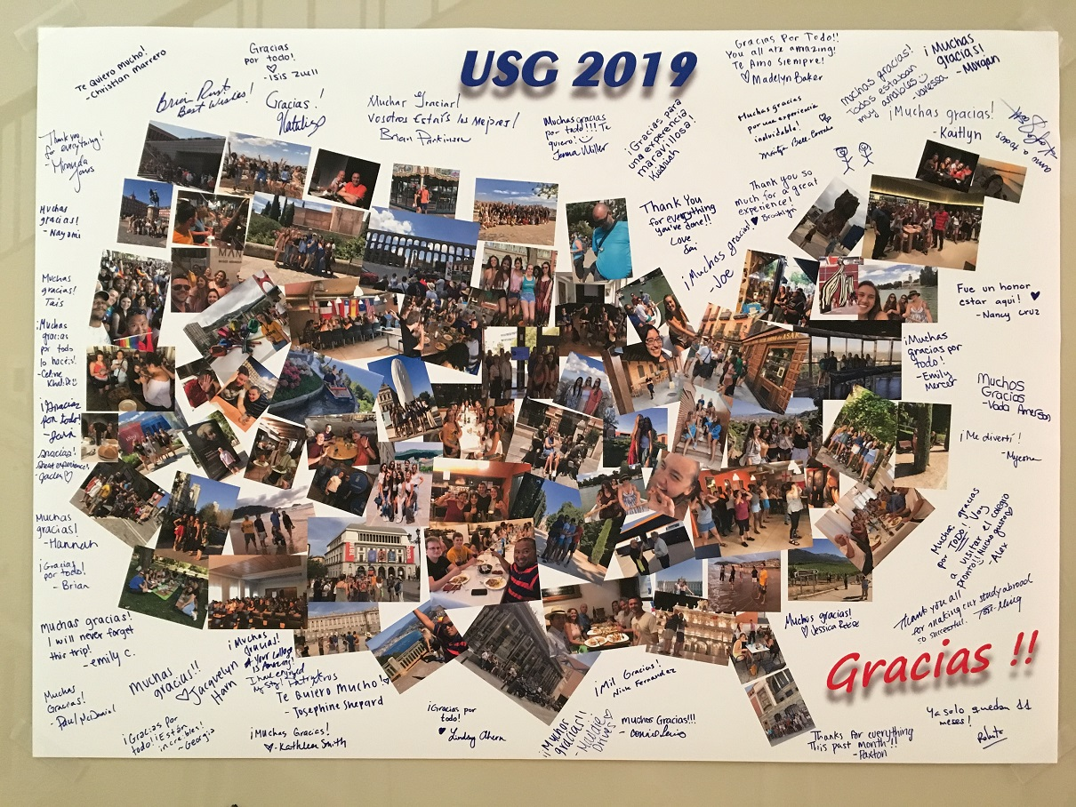 USG Summer Study Abroad in Madrid Spain 2019