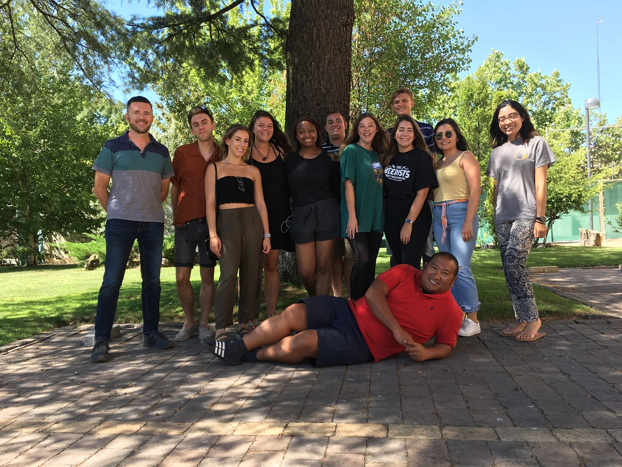 Kennesaw State University Summer Study Abroad Students in Spain